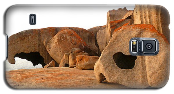 Galaxy S5 Case featuring the photograph Remarkable Rocks by Evelyn Tambour