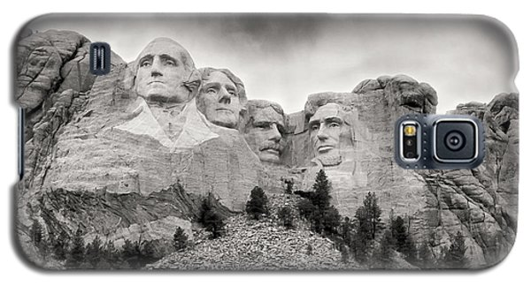 Remarkable Rushmore Galaxy S5 Case by Erika Weber