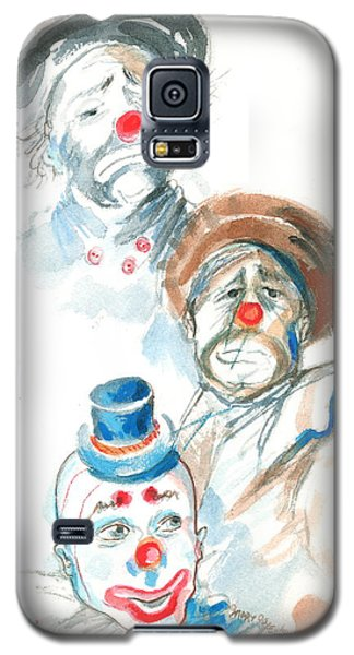 Remember The Clowns Galaxy S5 Case by Mary Armstrong