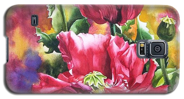 Poppies For Remembrance Day  Galaxy S5 Case