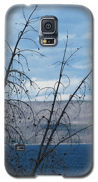 Galaxy S5 Case featuring the photograph Remnants Of The Fire by Laurel Powell