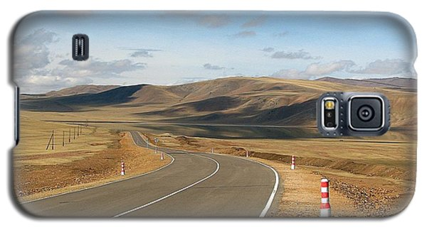 Remote Highway Mongolia Galaxy S5 Case