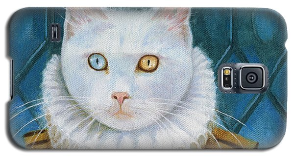 Renaissance Cat Galaxy S5 Case by Terry Webb Harshman