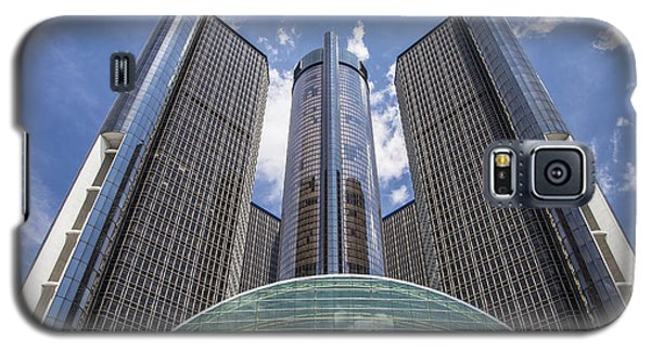 Renaissance Center From River Galaxy S5 Case
