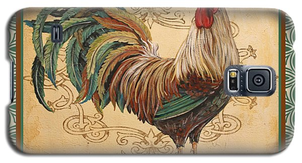 Renaissance Rooster-d-green Galaxy S5 Case by Jean Plout