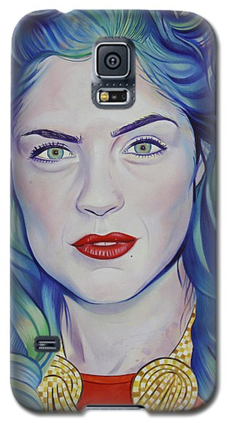 Galaxy S5 Case featuring the painting Rene Taylor by Joshua Morton