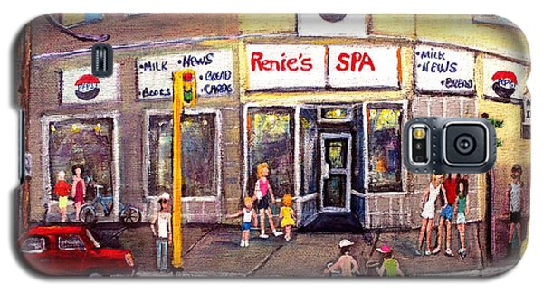 Renie's Spa In Summertime Galaxy S5 Case
