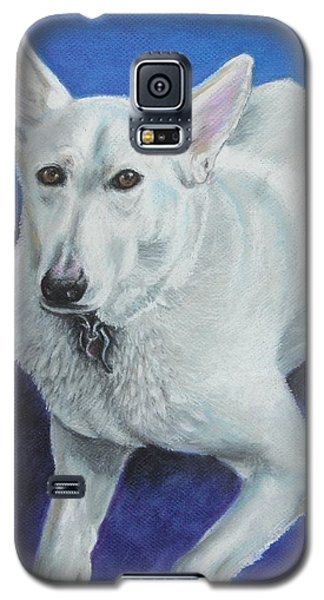 Galaxy S5 Case featuring the painting Reno by Jeanne Fischer