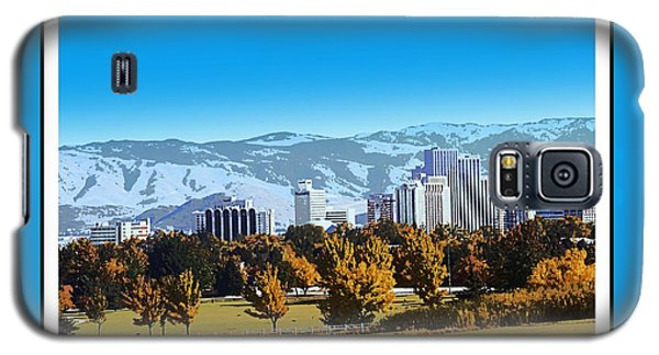 Reno Skyline From Rancho San Rafael Galaxy S5 Case