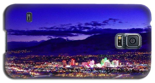 Reno Winter Cityscape Galaxy S5 Case