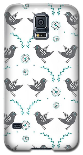 Lovebird Galaxy S5 Case - Repeat Lovebird by Susan Claire