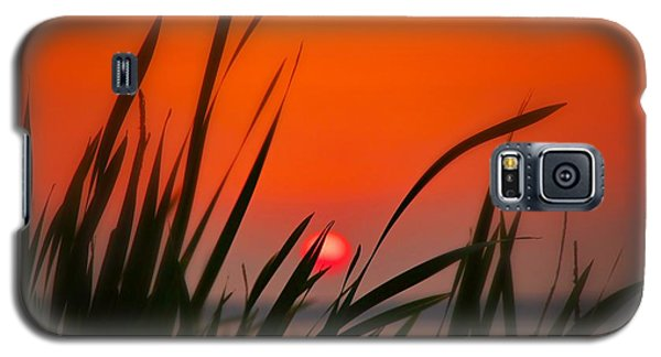 Galaxy S5 Case featuring the photograph Reservoir Sunset by Jim Albritton