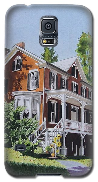 Galaxy S5 Case featuring the mixed media Residence In Sussex County by Constance Drescher