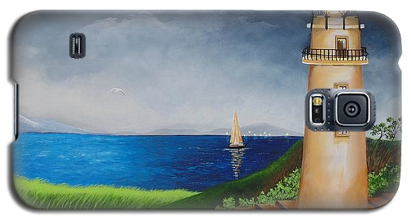Galaxy S5 Case featuring the painting Resilient by Nereida Rodriguez