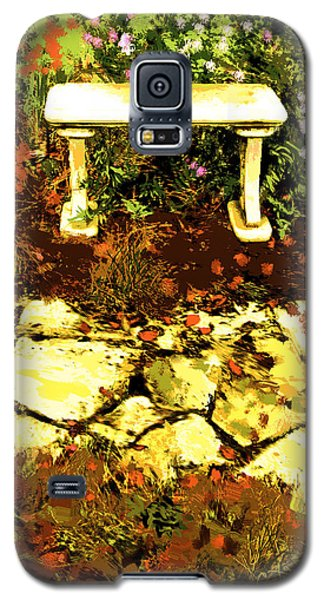 Rest Amongst The Flowers Galaxy S5 Case
