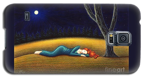 Rest For A Weary Heart Galaxy S5 Case by Danielle R T Haney