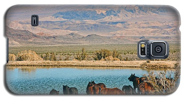 Rest Stop Galaxy S5 Case by Tammy Espino