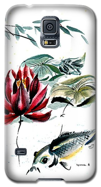 Galaxy S5 Case featuring the painting Resting Place by Bill Searle