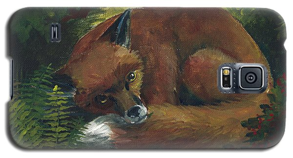 Resting Red Fox Galaxy S5 Case