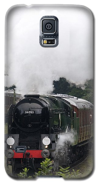 Restored Steam Engine 34053 Galaxy S5 Case
