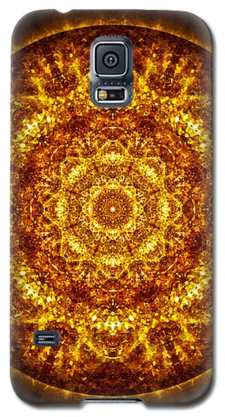 Galaxy S5 Case featuring the digital art Restoring Clarity by Jalai Lama