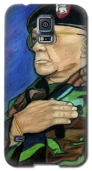 Ret Command Sgt Major Kittleson Galaxy S5 Case