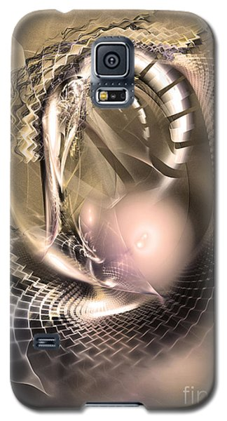 Rete Temporis - Abstract Art Galaxy S5 Case