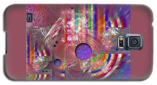 Galaxy S5 Case featuring the digital art Retro by Alexa Szlavics