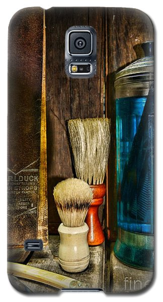 Retro Barber Tools Galaxy S5 Case by Paul Ward