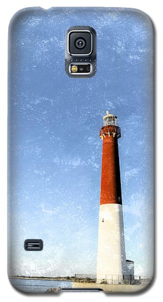 Retro Barnegat Lighthouse Barnegat Light New Jersey Galaxy S5 Case by Marianne Campolongo