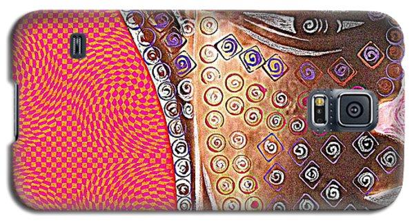 Retro Buddha Galaxy S5 Case by Julie  Hoyle