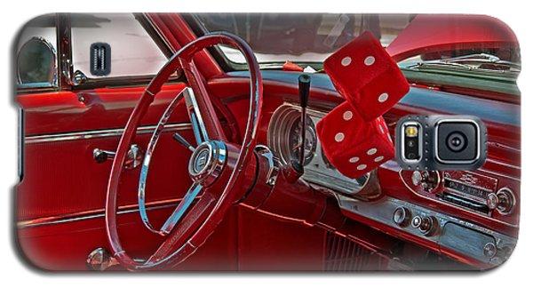 Retro Chevy Car Interior Art Prints Galaxy S5 Case