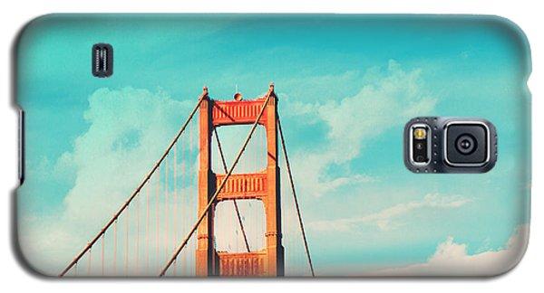 Retro Golden Gate - San Francisco Galaxy S5 Case by Melanie Alexandra Price