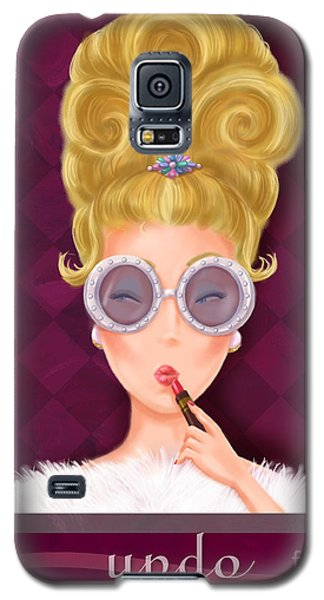 Retro Hairdos-updo Galaxy S5 Case