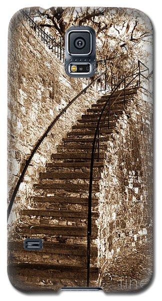 Retro Stairs In Savannah Galaxy S5 Case