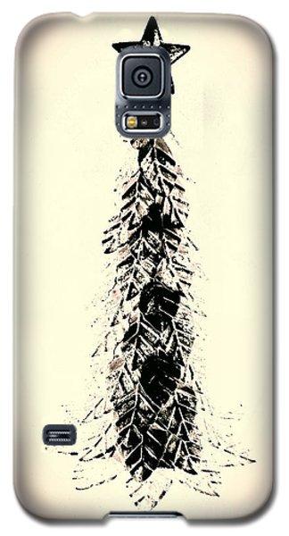 Retro Xmas Galaxy S5 Case by Jacqueline McReynolds