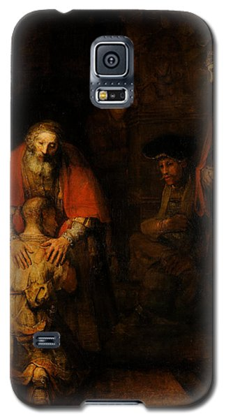 Return Of The Prodigal Son  Galaxy S5 Case by Rembrandt van Rijn