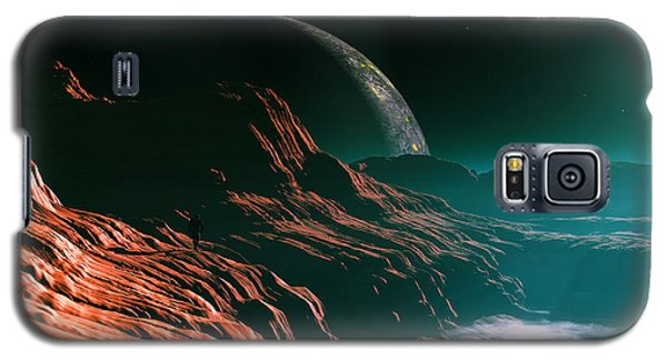 Galaxy S5 Case featuring the digital art Returning... by Tim Fillingim
