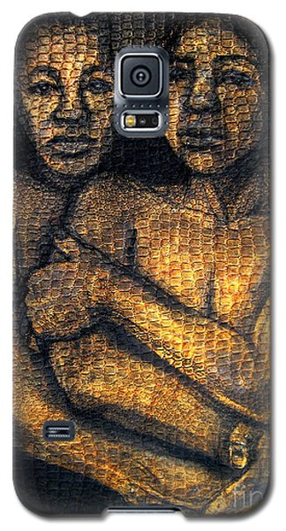 Galaxy S5 Case featuring the drawing Revelations by Gabrielle Wilson-Sealy