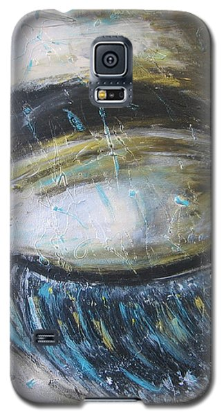 Galaxy S5 Case featuring the painting Rever En Couleurs by Lucy Matta