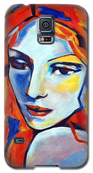Galaxy S5 Case featuring the painting Reverie by Helena Wierzbicki