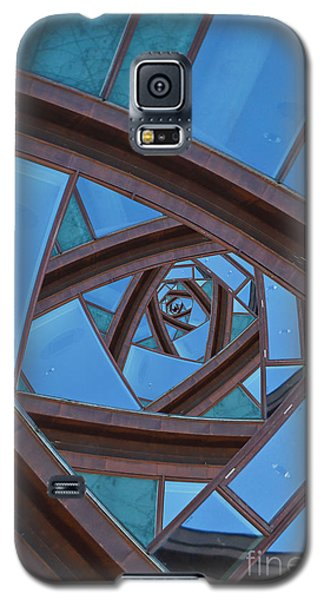 Galaxy S5 Case featuring the photograph Revolving Blues. by Clare Bambers