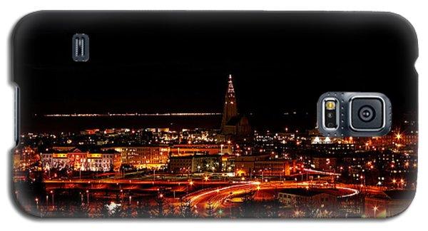 Reykjavik Nightlife Galaxy S5 Case