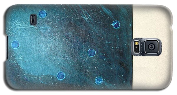 Galaxy S5 Case featuring the painting Rhapsody In Blue by Sharyn Winters