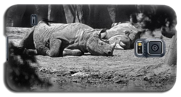 Rhino Nap Time Galaxy S5 Case by Thomas Woolworth