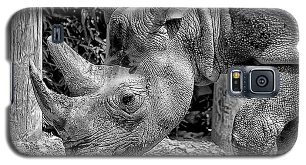 Rhino Portrait Galaxy S5 Case