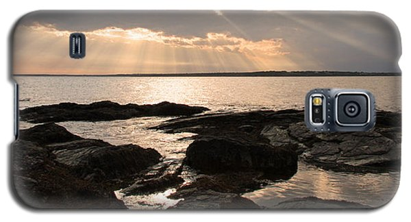 Galaxy S5 Case featuring the photograph Rhode Island Sunset by Brooke T Ryan