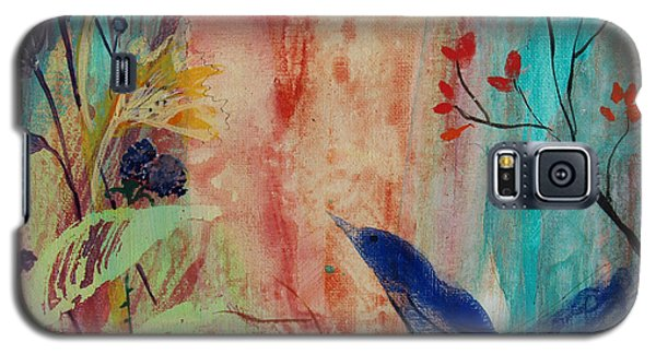 Galaxy S5 Case featuring the painting Rhythm And Blues by Robin Maria Pedrero