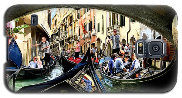 Galaxy S5 Case featuring the photograph Rhythm Of Venice by Jennie Breeze