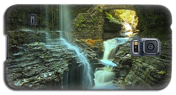 Rainbow Falls Watkins Glen Galaxy S5 Case